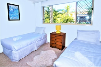 Guestroom at Sand Castles on Currumbin Beach in Currumbin