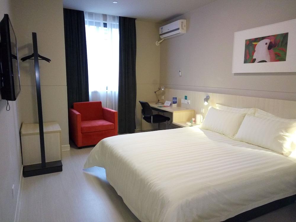 진쟝 인 창조우 올림픽 센터(Jinjiang Inn Changzhou Olympic Center) Hotel Image 10 - Guestroom