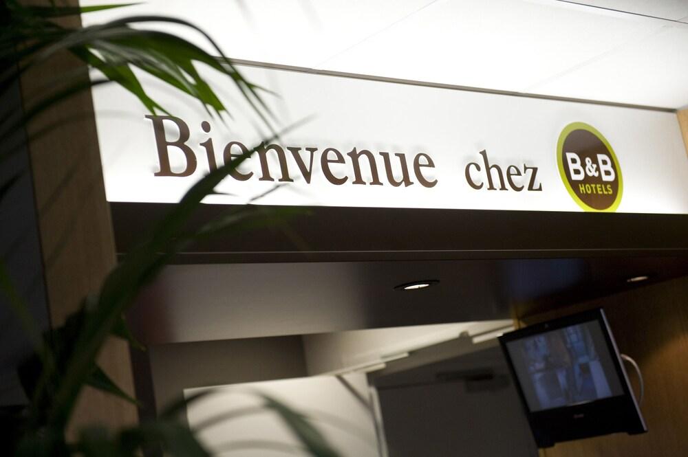 B&B 오텔 마르세유 상트르 라 티몬(B&B Hôtel Marseille Centre La Timone) Hotel Image 12 - Reception