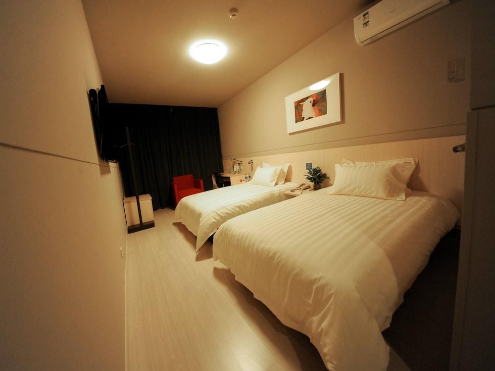 진쟝 인 젠지앙 주롱 인민 로드(Jinjiang Inn Zhenjiang Jurong Renmin Rd) Hotel Image 0 - Guestroom