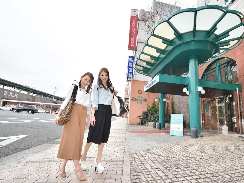 호텔 씨웨이브 벳푸(Hotel Seawave Beppu) Hotel Image 51 - Hotel Entrance