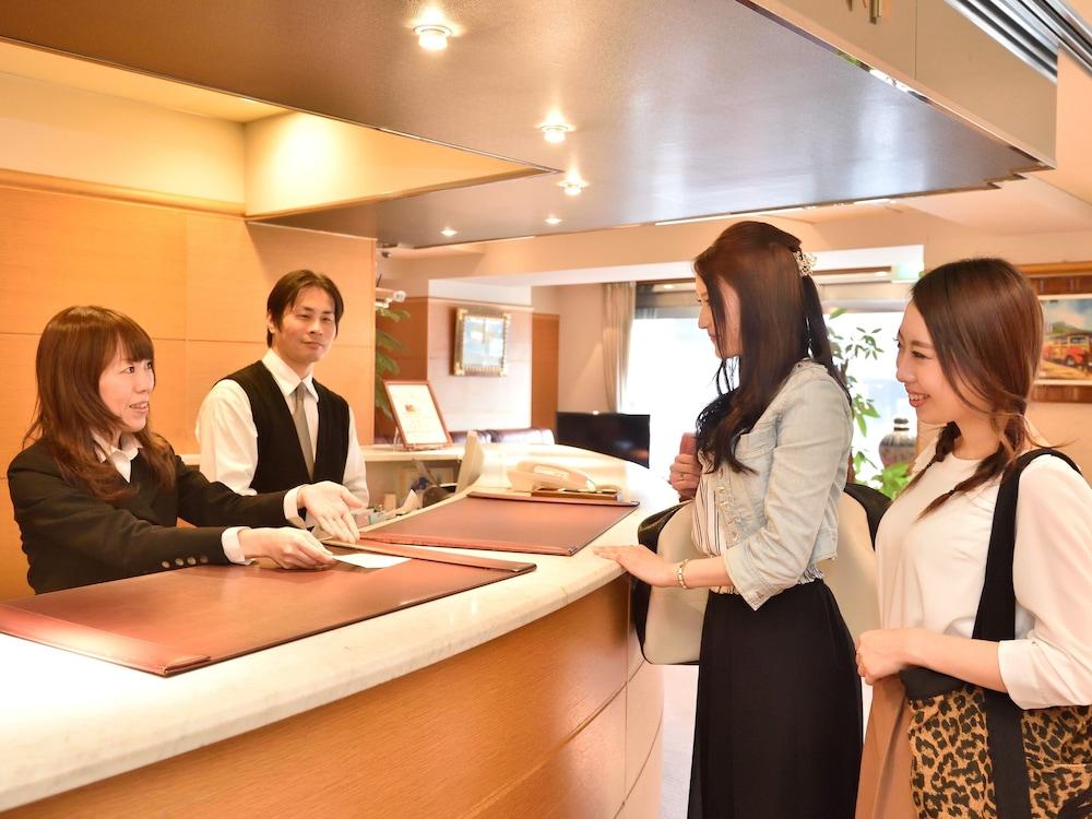 호텔 씨웨이브 벳푸(Hotel Seawave Beppu) Hotel Image 4 - Reception