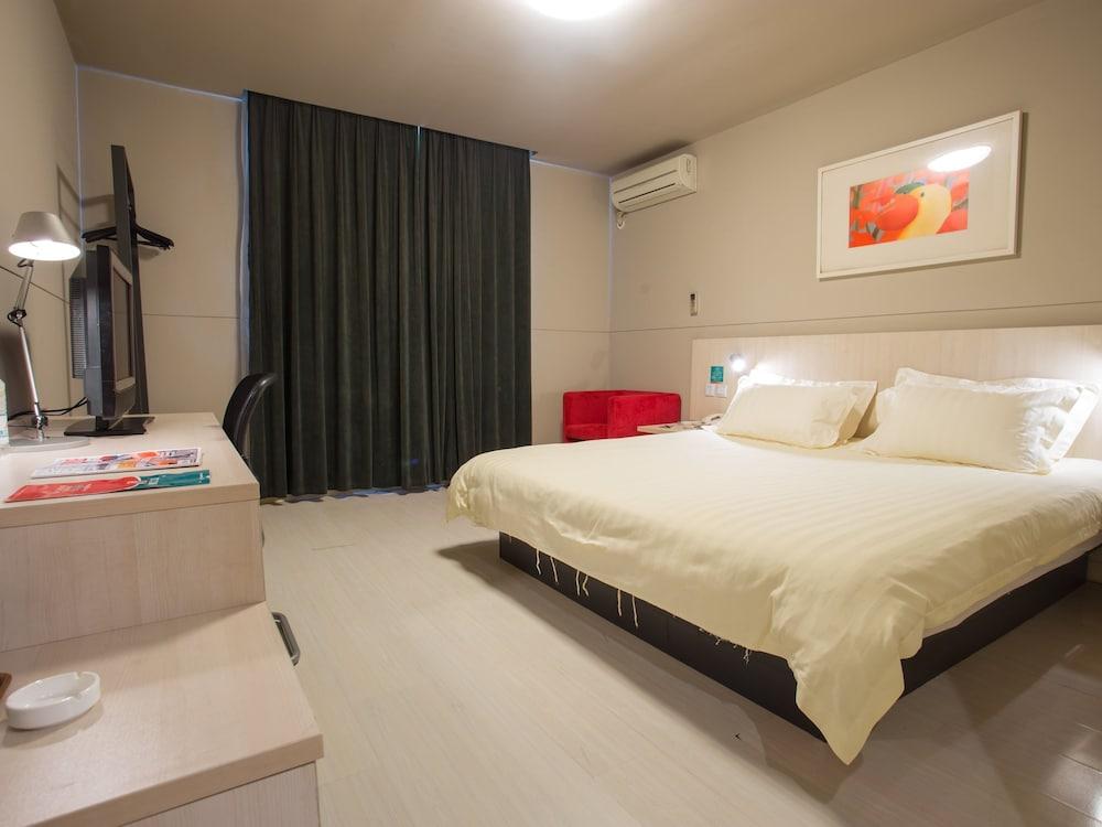 진쟝 인 루오양 트레인 스테이션(Jinjiang Inn Luoyang Train Station) Hotel Image 17 - Guestroom