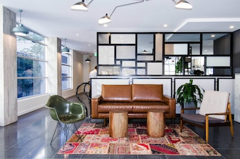 Lobby at ibis budget Sydney East in Darlinghurst