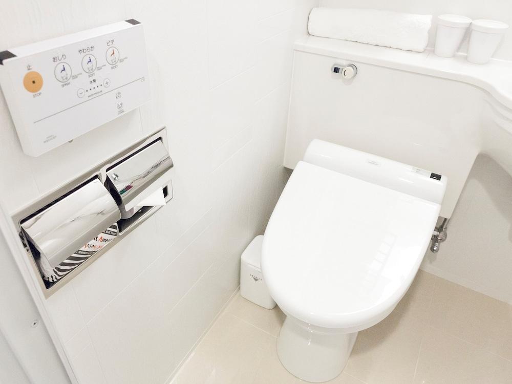 아파 호텔 츠키지에키 미나미(APA Hotel Tsukiji-Eki-Minami) Hotel Image 24 - Bathroom