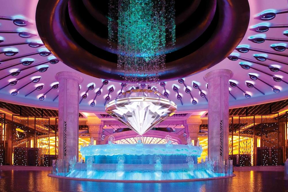마카오 호텔 추천 갤럭시 호텔 다이아몬드 분수쇼