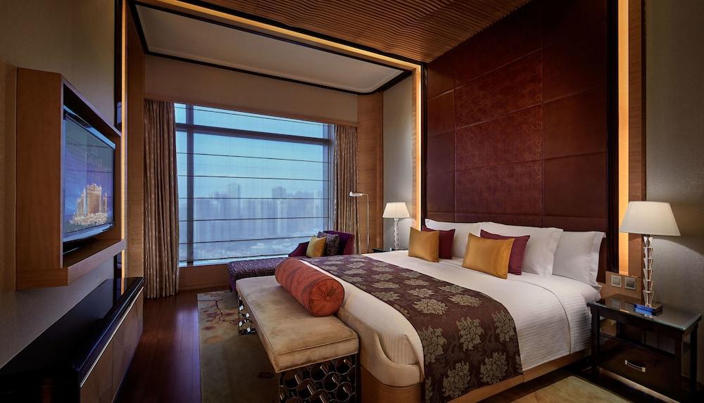 마카오 호텔 추천 갤럭시 호텔 객실 침대