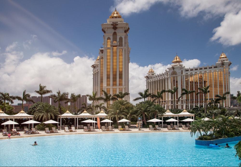 마카오 호텔 추천 갤럭시 호텔 야외수영장