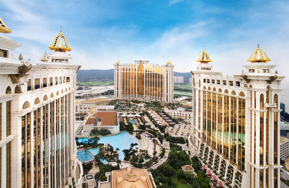 마카오 호텔 추천 갤럭시 호텔 전경