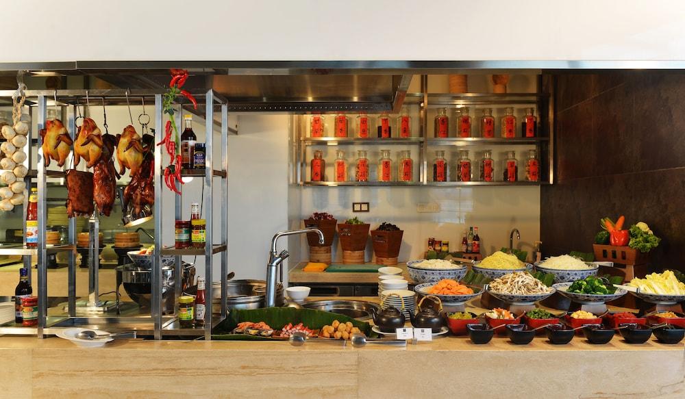 상하이 메리어트 호텔 리버사이드(Shanghai Marriott Hotel Riverside) Hotel Image 27 - Dining