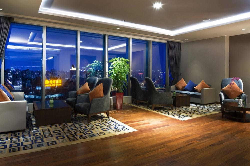 상하이 메리어트 호텔 리버사이드(Shanghai Marriott Hotel Riverside) Hotel Image 44 - Hotel Bar