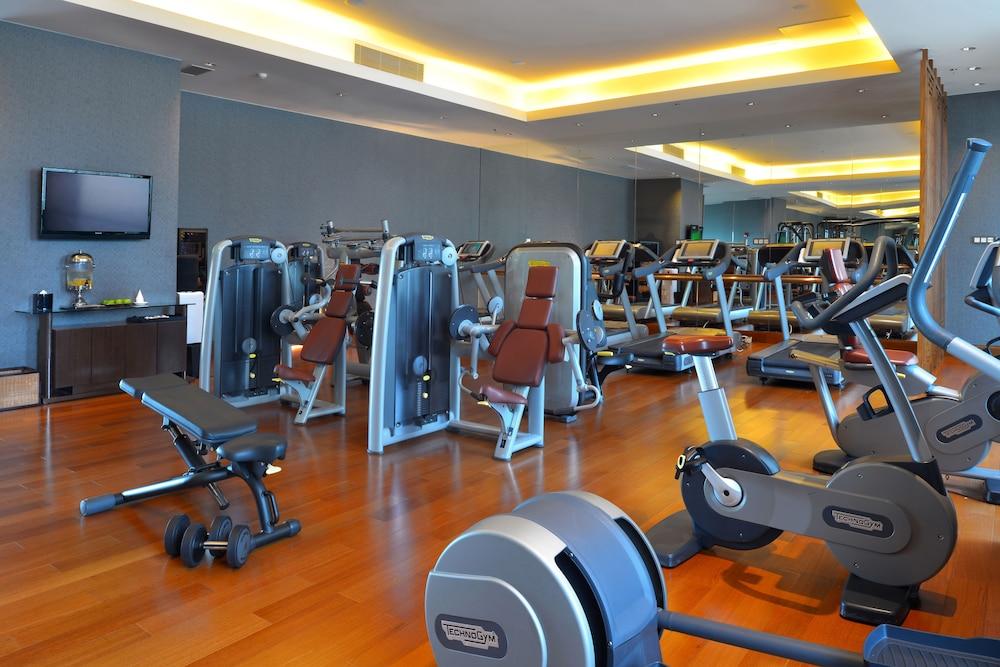 상하이 메리어트 호텔 리버사이드(Shanghai Marriott Hotel Riverside) Hotel Image 21 - Fitness Facility
