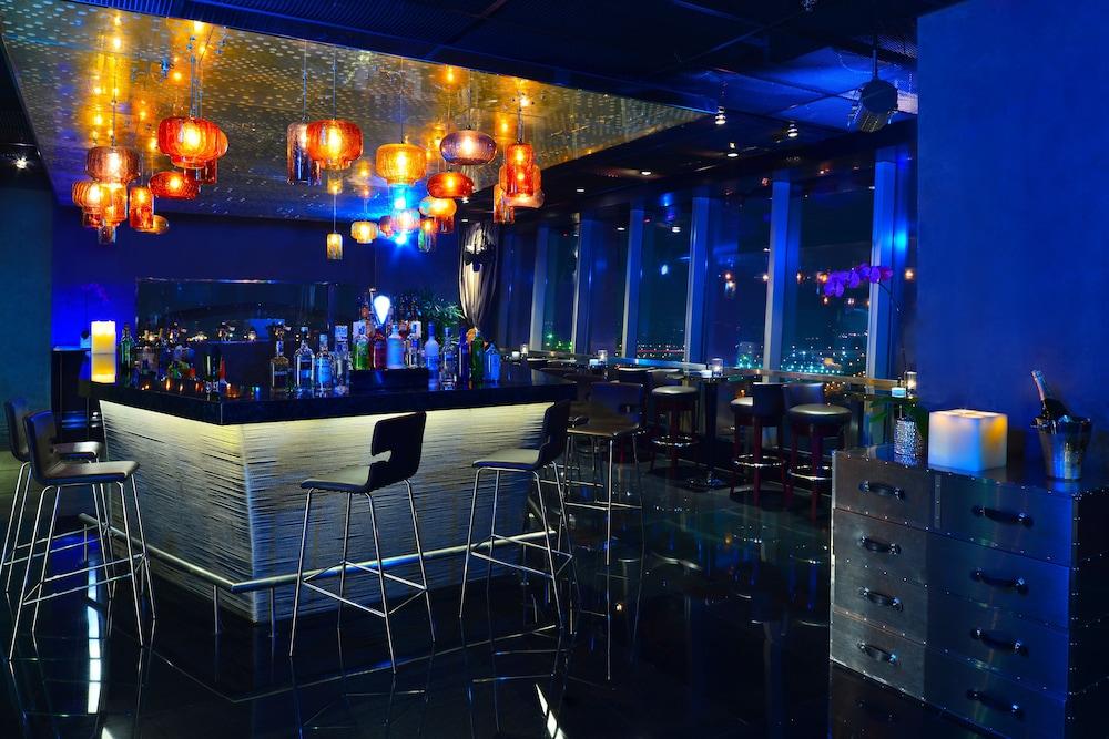 상하이 메리어트 호텔 리버사이드(Shanghai Marriott Hotel Riverside) Hotel Image 42 - Hotel Bar