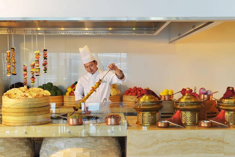 상하이 메리어트 호텔 리버사이드(Shanghai Marriott Hotel Riverside) Hotel Image 55 - Dining