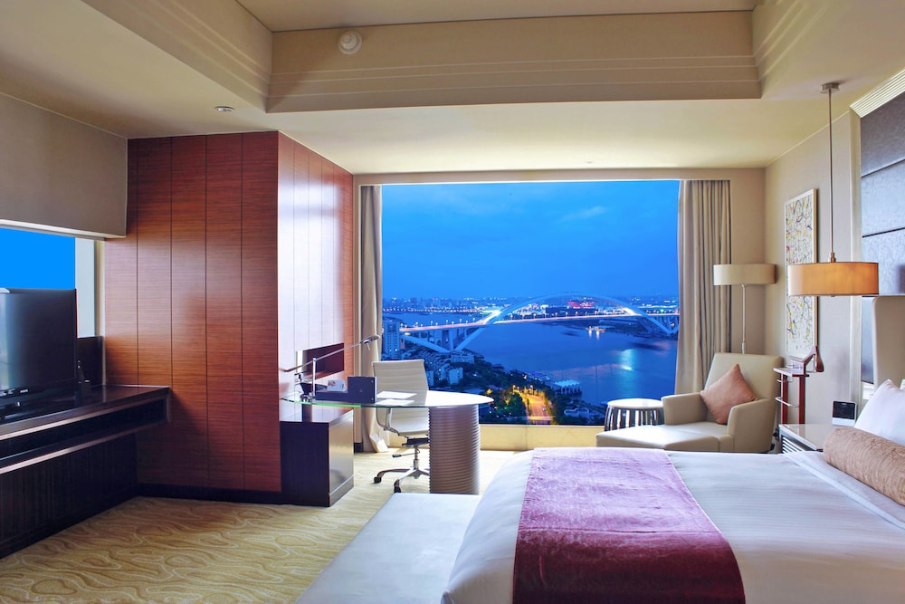 상하이 메리어트 호텔 리버사이드(Shanghai Marriott Hotel Riverside) Hotel Image 12 - Guestroom
