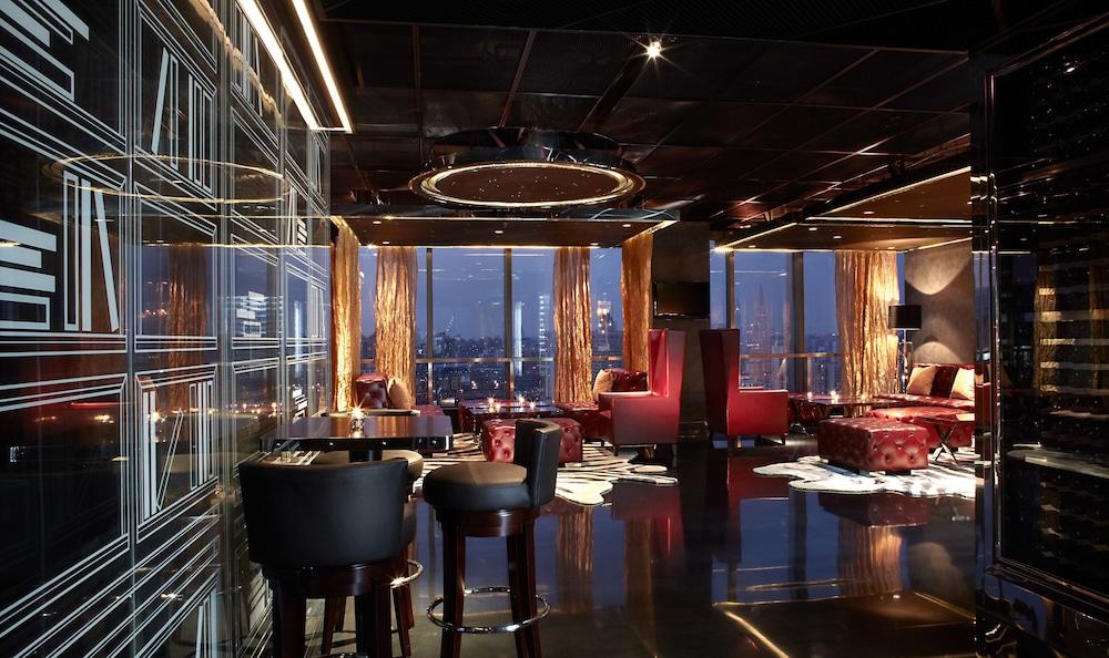 상하이 메리어트 호텔 리버사이드(Shanghai Marriott Hotel Riverside) Hotel Image 41 - Hotel Bar