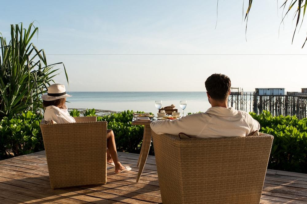에스케 잘루 잔지바르(Essque Zalu Zanzibar) Hotel Image 33 - Terrace/Patio