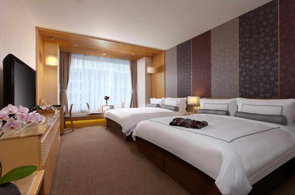 에버그린 리조트 호텔(쟈오시)(Evergreen Resort Hotel (Jiaosi)) Hotel Image 3 - Guestroom