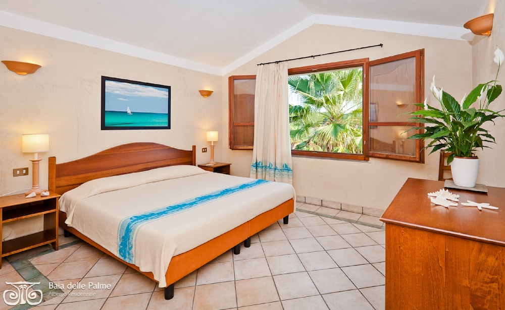 레지던스 바이아 델레 팔메(Residence Baia delle Palme) Hotel Image 10 - Guestroom