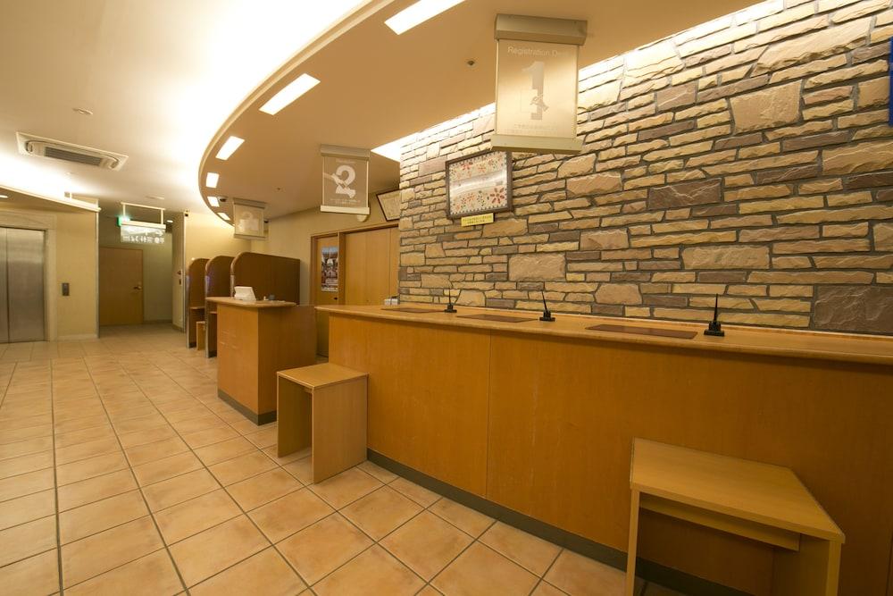 R&B 호텔 카나자와에키 니시구치(R&B Hotel Kanazawa-eki Nishi-guchi) Hotel Image 5 - Lobby