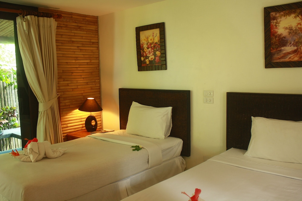 사무이 허니 코티지스 비치 리조트(Samui Honey Cottages Beach Resort) Hotel Image 11 - Guestroom
