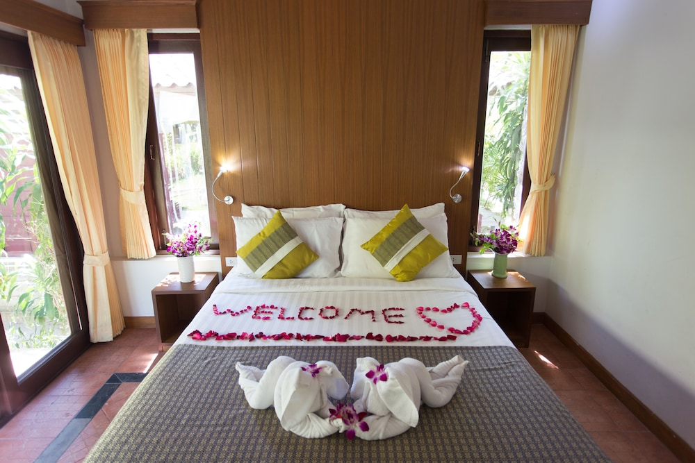 사무이 허니 코티지스 비치 리조트(Samui Honey Cottages Beach Resort) Hotel Image 15 - Guestroom