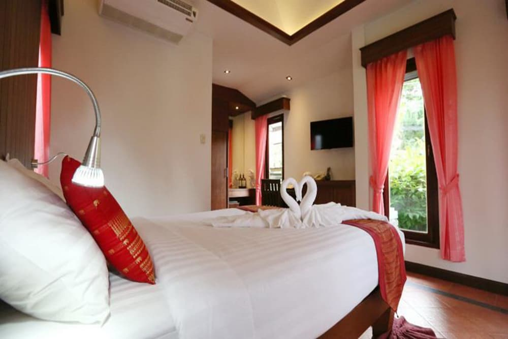 사무이 허니 코티지스 비치 리조트(Samui Honey Cottages Beach Resort) Hotel Image 6 - Guestroom