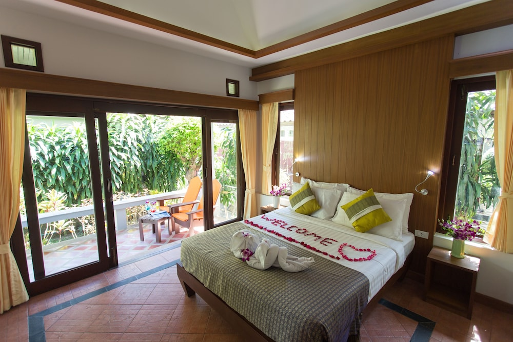 사무이 허니 코티지스 비치 리조트(Samui Honey Cottages Beach Resort) Hotel Image 24 - Guestroom View
