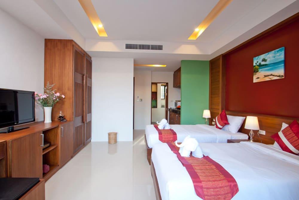 사무이 허니 타라 빌라 레지던스(Samui Honey Tara Villa Residence) Hotel Image 6 - Guestroom