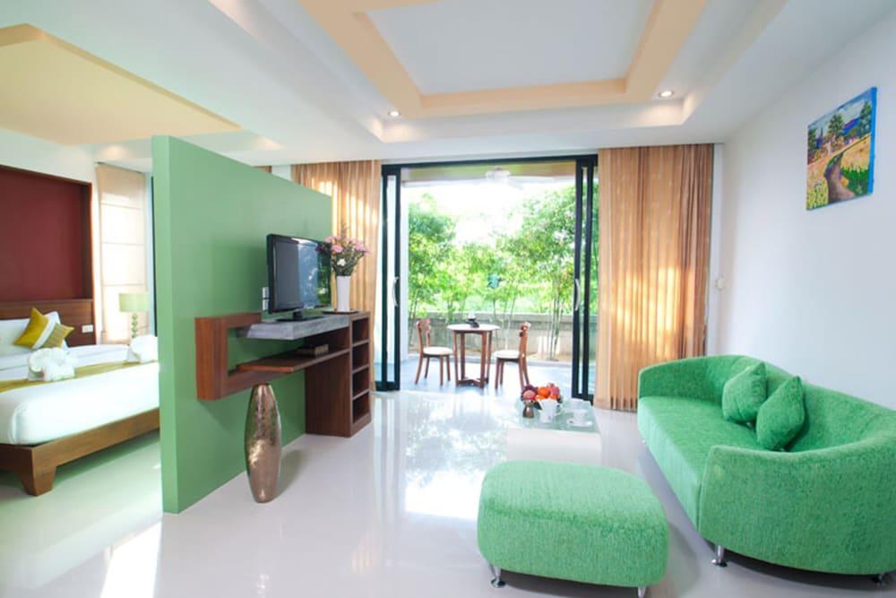 사무이 허니 타라 빌라 레지던스(Samui Honey Tara Villa Residence) Hotel Image 24 - Living Area