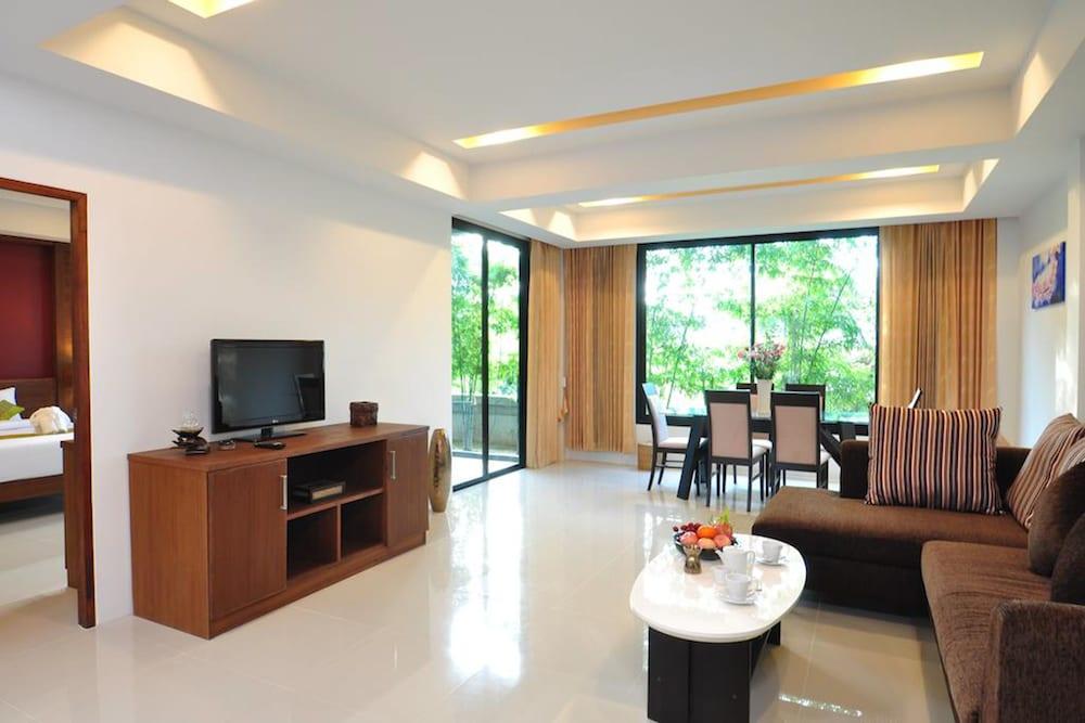 사무이 허니 타라 빌라 레지던스(Samui Honey Tara Villa Residence) Hotel Image 52 - Living Area