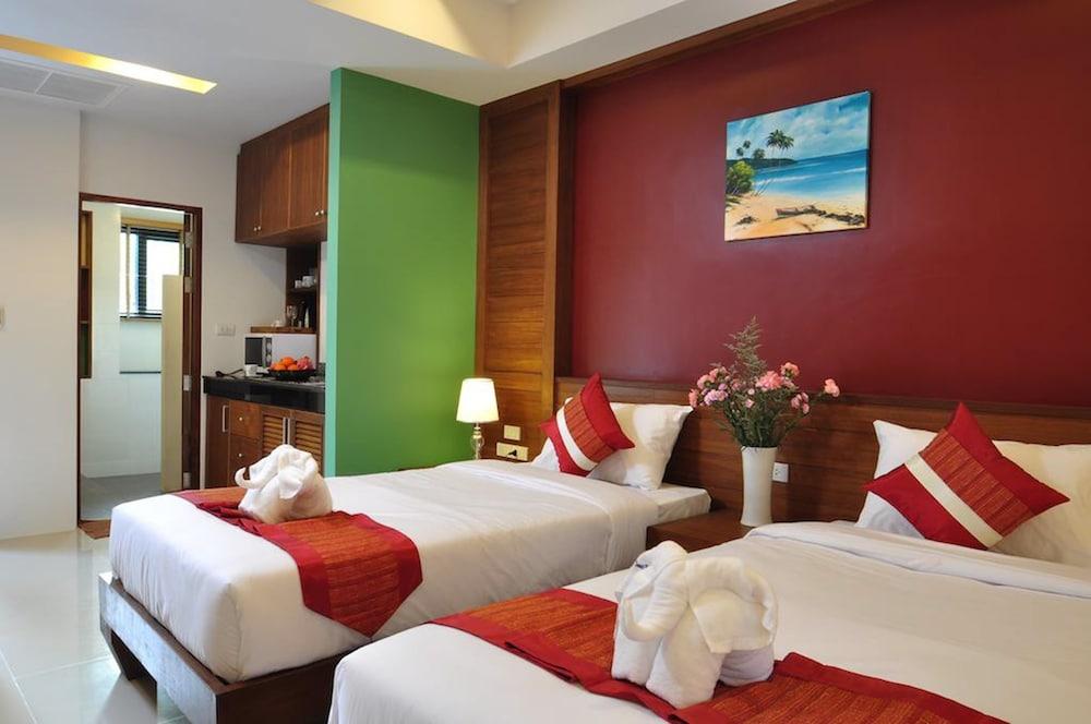 사무이 허니 타라 빌라 레지던스(Samui Honey Tara Villa Residence) Hotel Image 16 - Guestroom