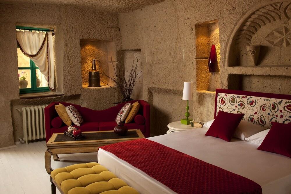 헤젠 케이브 호텔(Hezen Cave Hotel) Hotel Image 16 - Guestroom