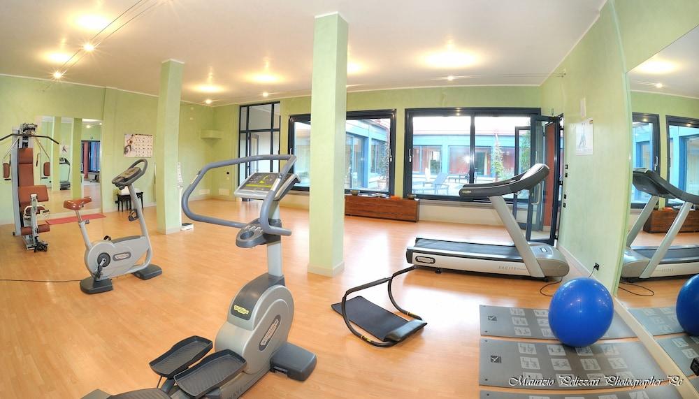 를레 콜롬바라 스파 & 웰니스(Relais Colombara Spa & Wellness) Hotel Image 47 - Gym