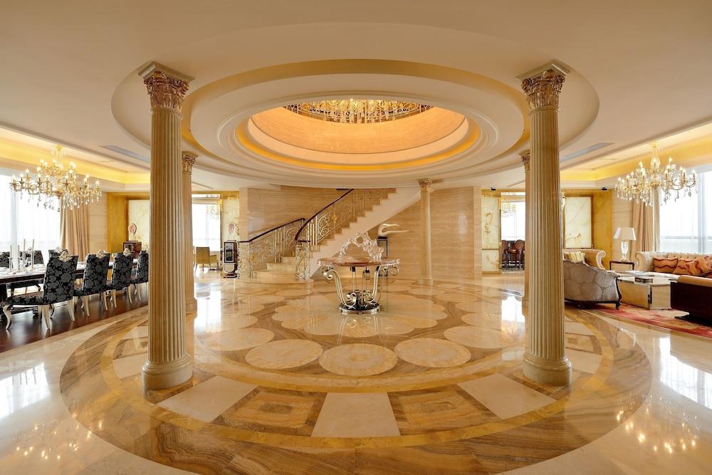 힐튼 항저우 칭다오 레이크 리조트(Hilton Hangzhou Qiandao Lake Resort) Hotel Image 30 - Living Area