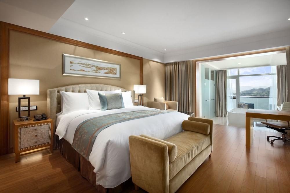 힐튼 항저우 칭다오 레이크 리조트(Hilton Hangzhou Qiandao Lake Resort) Hotel Image 14 - Guestroom