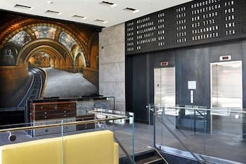 Lobby at Z NYC Hotel in Long Island City