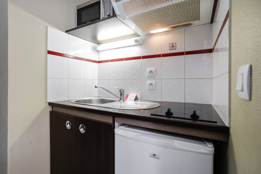 아파트시티 니스 아크로폴리스(Appart'City Nice Acropolis) Hotel Image 22 - In-Room Kitchenette