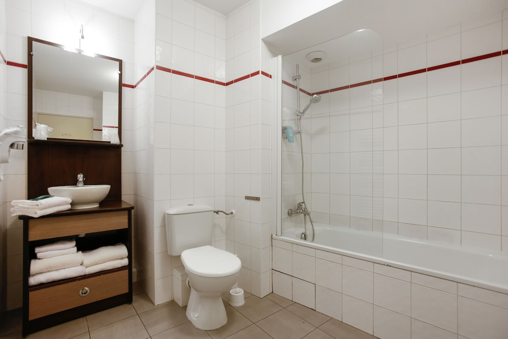 아파트시티 니스 아크로폴리스(Appart'City Nice Acropolis) Hotel Image 34 - Bathroom