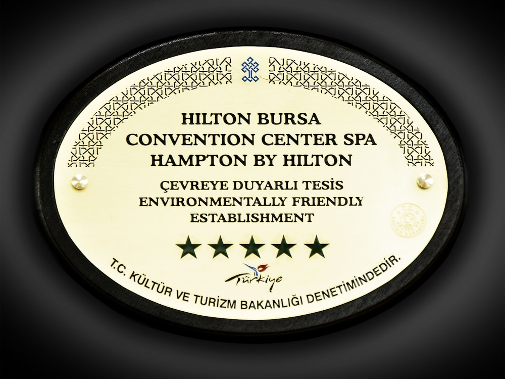 힐튼 부르사 컨벤션 센터 & 스파(Hilton Bursa Convention Center & Spa) Hotel Image 75 - Miscellaneous