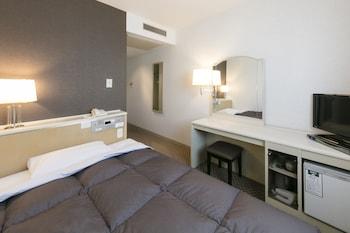 シングルルーム ダブルベッド 1 台 禁煙 (13.5 ㎡)|14㎡|岡山ワシントンホテルプラザ