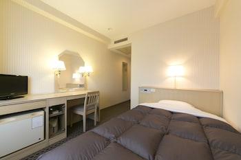 シングルルーム セミダブルベッド 1 台 喫煙可|14㎡|米子ワシントンホテルプラザ