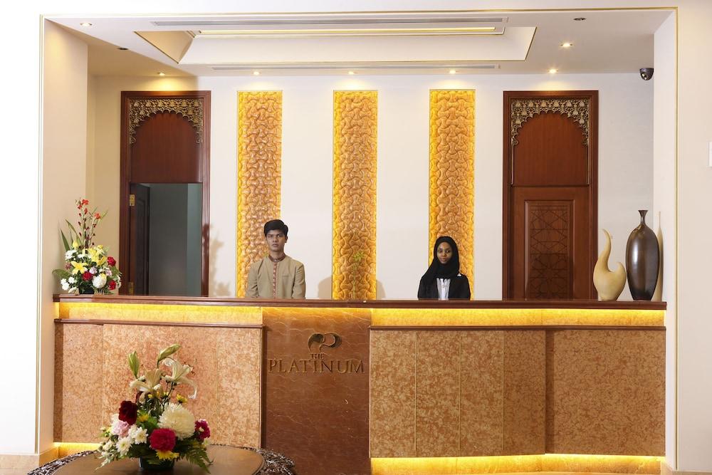 플래티넘 호텔(Platinum Hotel) Hotel Image 5 - Reception