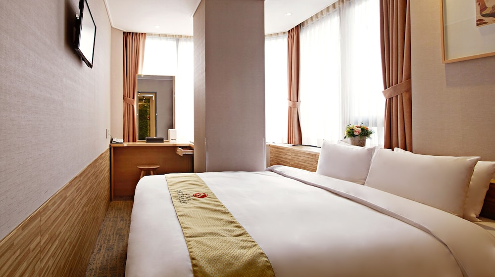 호텔 스카이파크 명동 III(HOTEL SKYPARK Myeongdong III) Hotel Image 17 - Guestroom