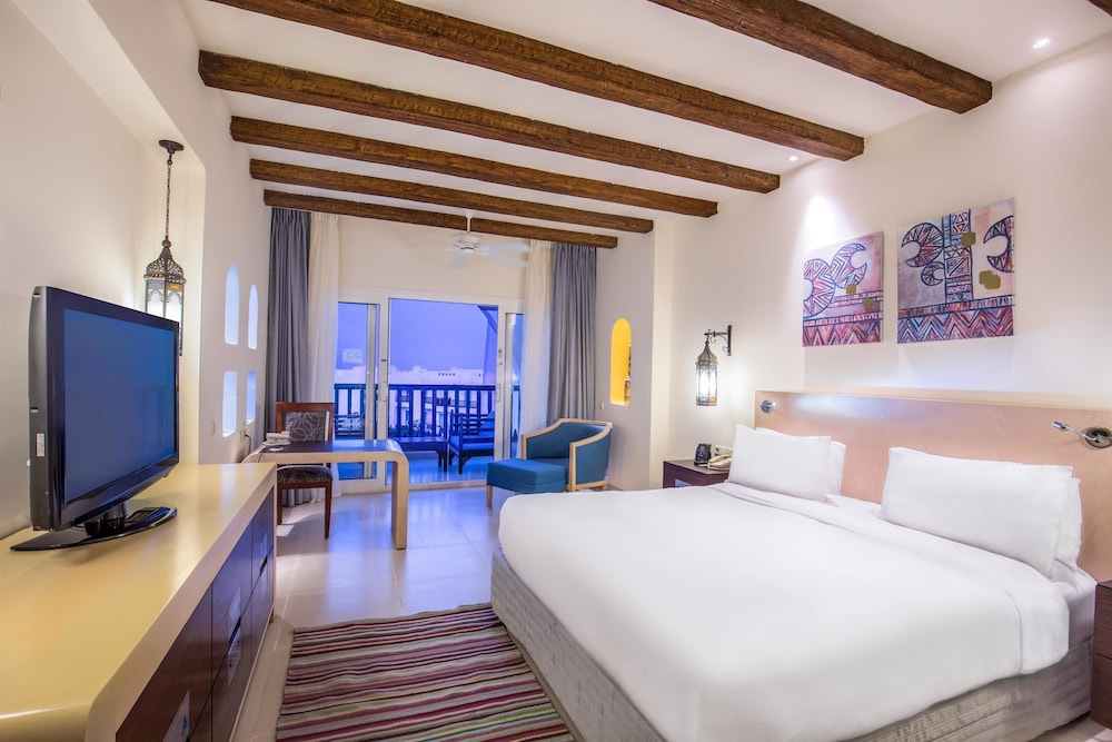 힐튼 마르사 알람 누비안 리조트(Hilton Marsa Alam Nubian Resort) Hotel Image 35 - Guestroom