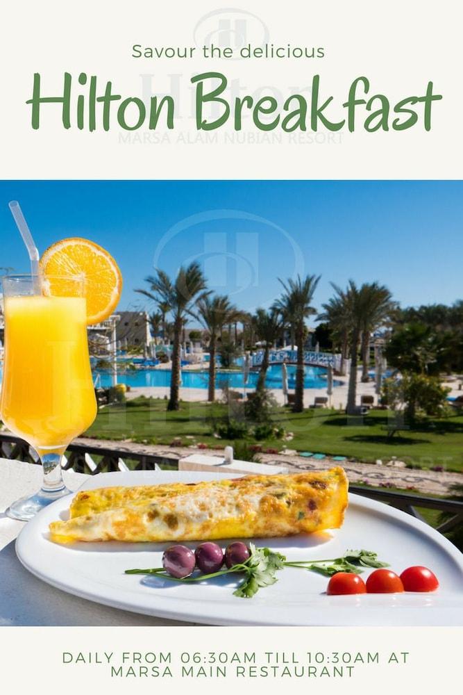 힐튼 마르사 알람 누비안 리조트(Hilton Marsa Alam Nubian Resort) Hotel Image 89 - Breakfast Meal
