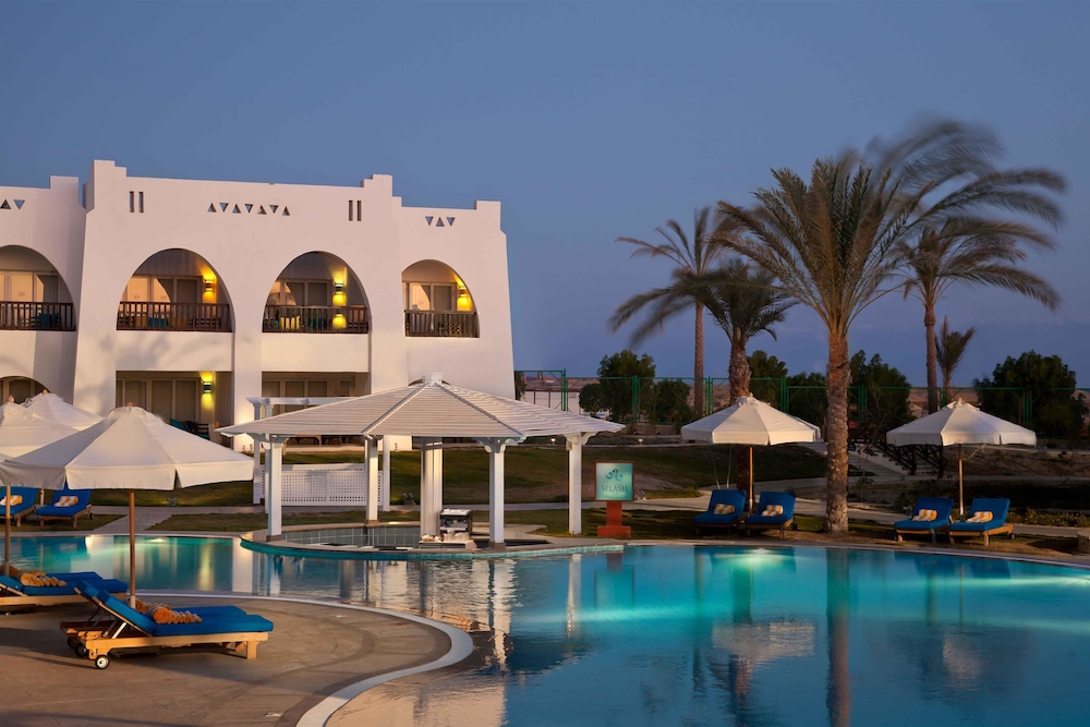 힐튼 마르사 알람 누비안 리조트(Hilton Marsa Alam Nubian Resort) Hotel Image 96 - Hotel Bar