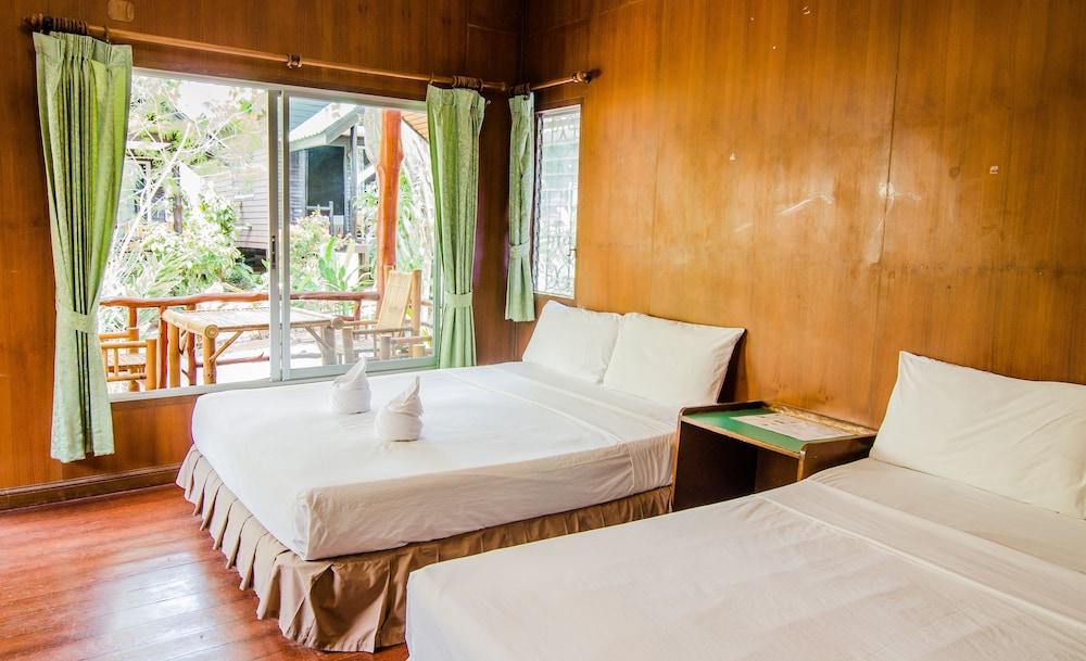 시 가든 리조트 - 하아드 린(Sea Garden Resort - Haad Rin) Hotel Image 4 - Guestroom