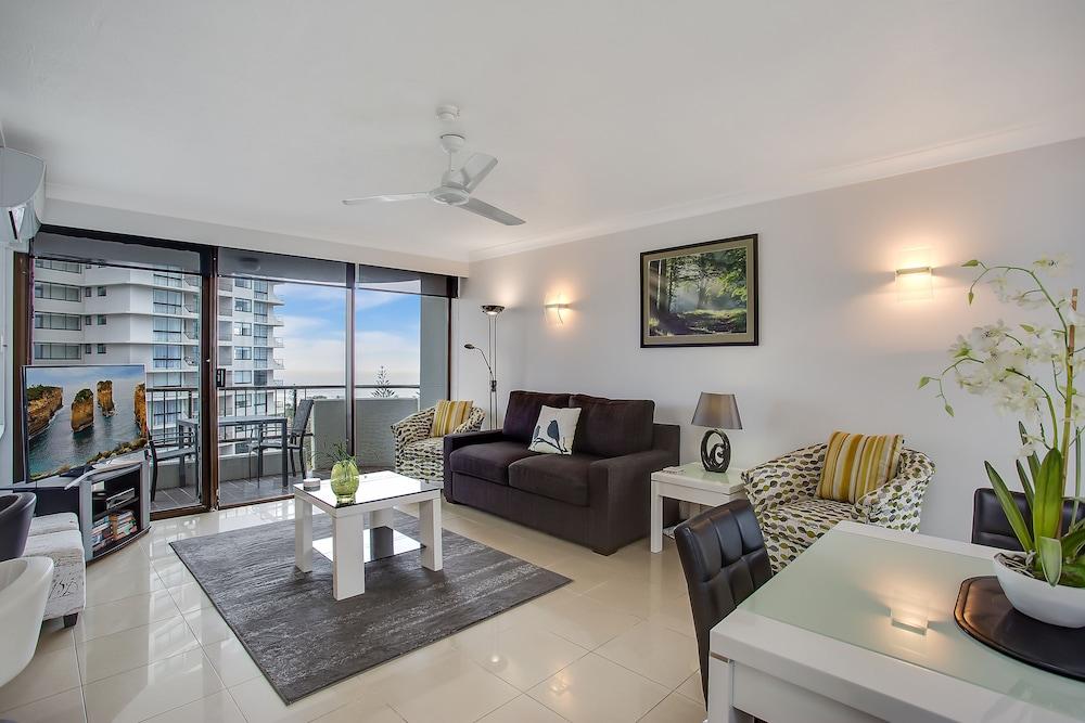퍼시픽 리조트 브로드비치(Pacific Resort Broadbeach) Hotel Image 18 - Living Area