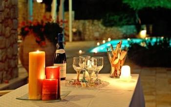 코르푸 럭셔리 빌라(Corfu Luxury Villas) Hotel Image 67 - Outdoor Dining